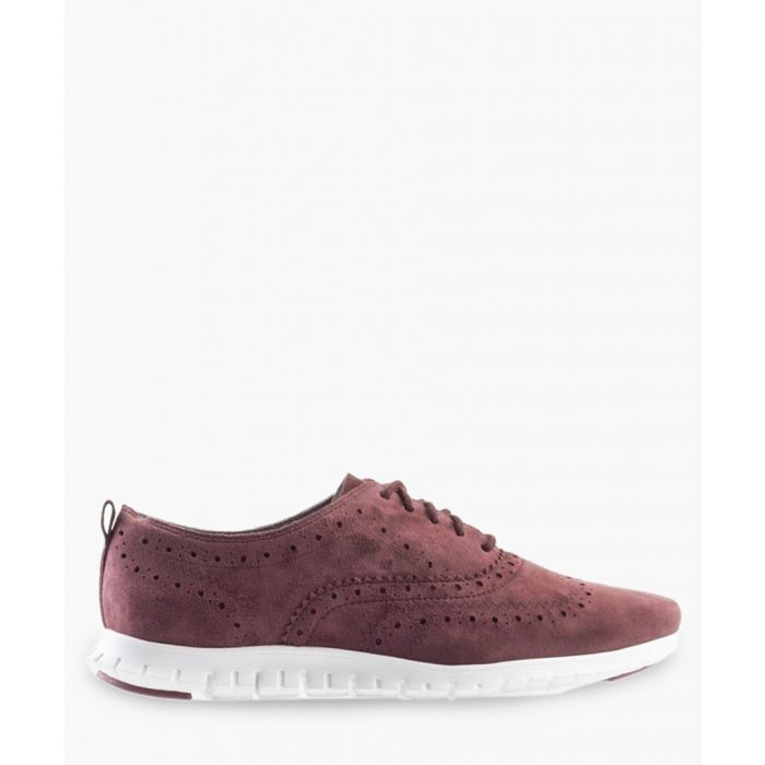 Image for Womens burgundy Oxford shoes