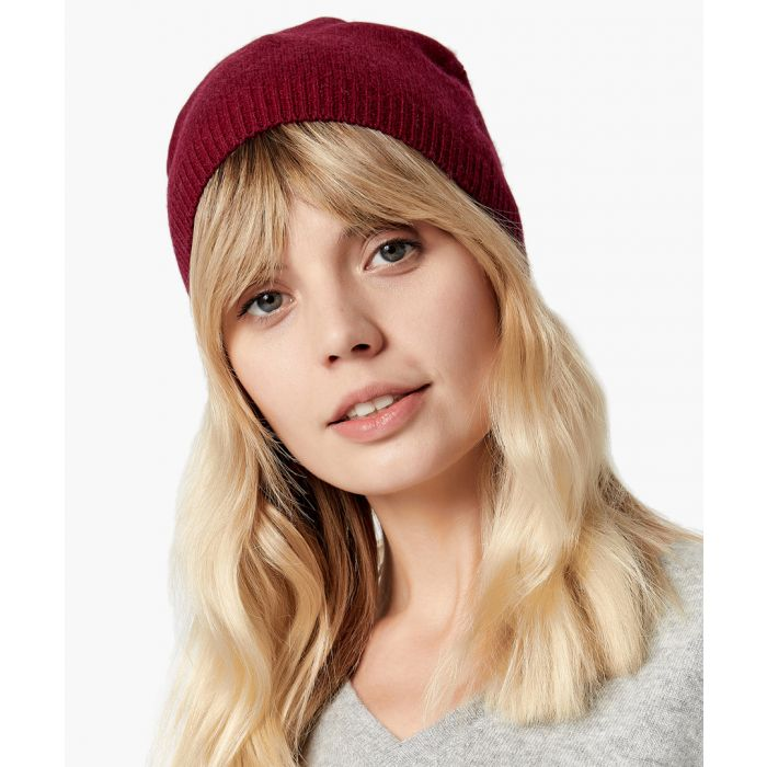 Image for Cherry pure cashmere hat