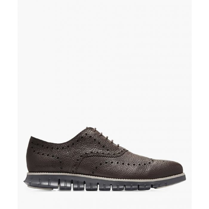Image for Mens brown Oxford shoes