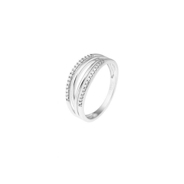Image for 0.08ct diamonds & 9k white gold ring