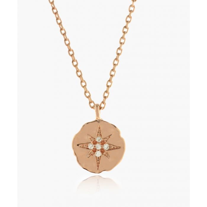 Image for Star Sign 14k rose gold-plated necklace