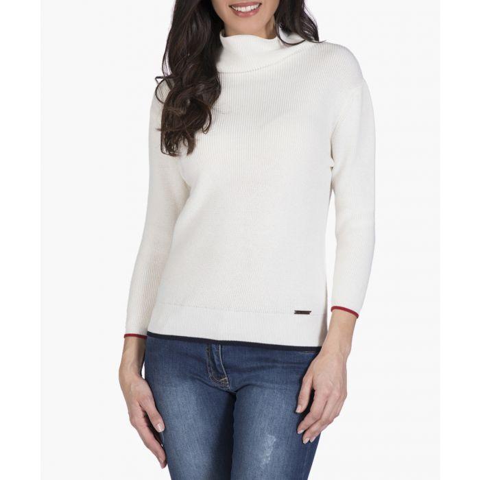 Image for Ecru cotton jumper