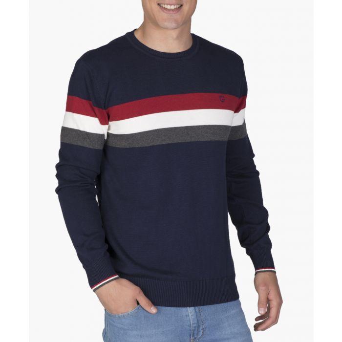Image for Multi-coloured cotton jumper