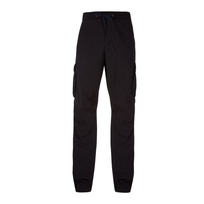 Image for Black cotton trousers