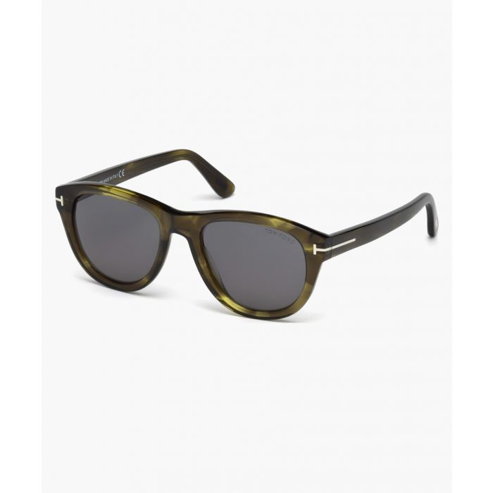 Image for Benedict green sunglasses