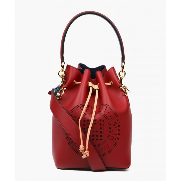 Image for Strawberry leather bag