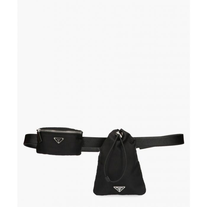Image for Black shell belt bag