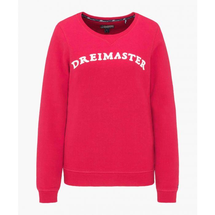 Image for Dark red jumper