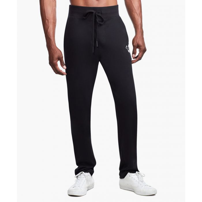Image for Black logo slim joggers