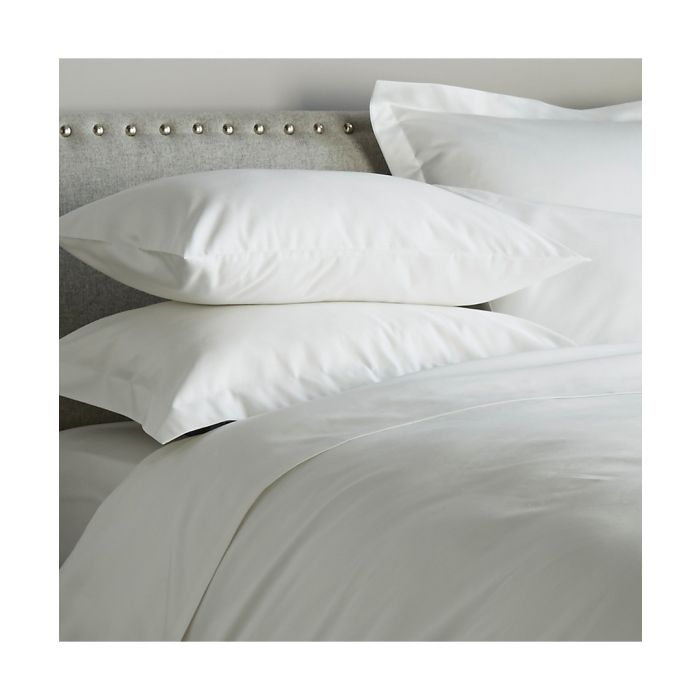 Image for 600 Thread Count Flat Sheet - White