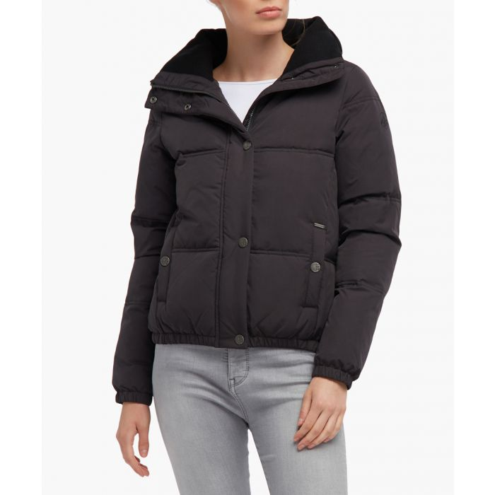 Image for Black puffer jacket