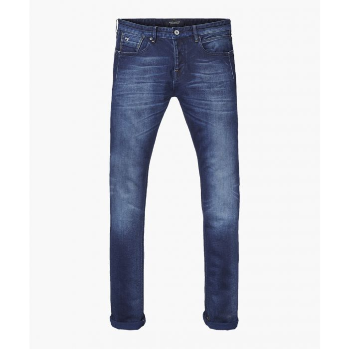 Image for Ralston dark blue cotton jeans