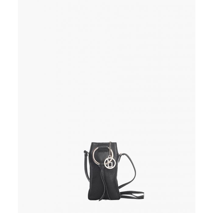 Image for Enna black leather  crossbody