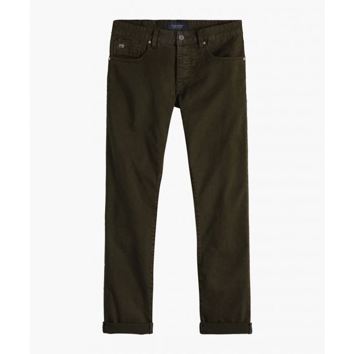 Image for Military green clean dyed trousers