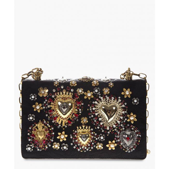 Image for Devotion black embellished shoulder bag