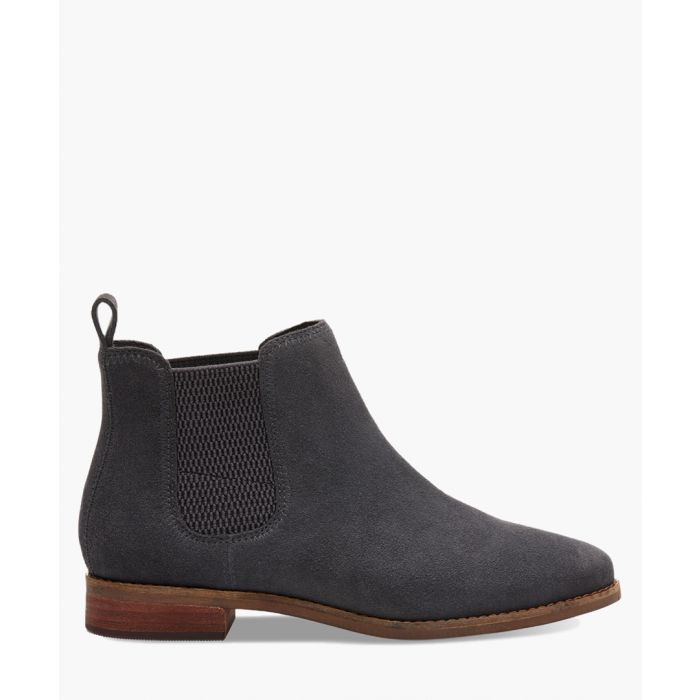 Image for Ella grey suede shoes