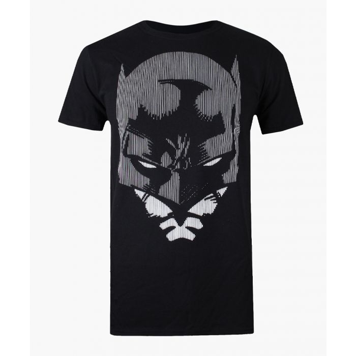 Image for Batman lines black cotton T-shirt