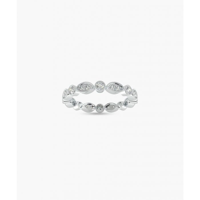 Image for 9k white gold full eternity ring
