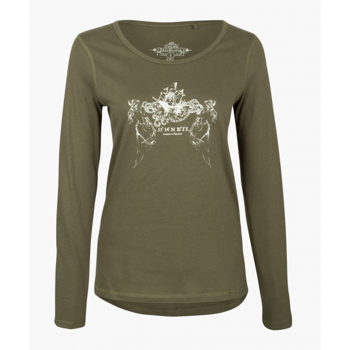Image for Olive long sleeved top