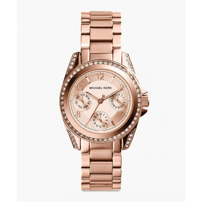 Image for Blair Mini rose gold-plated stainless steel watch
