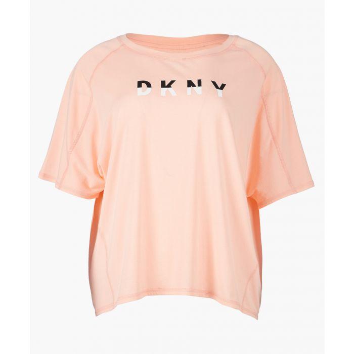 Image for Papaya pink oversized T-shirt