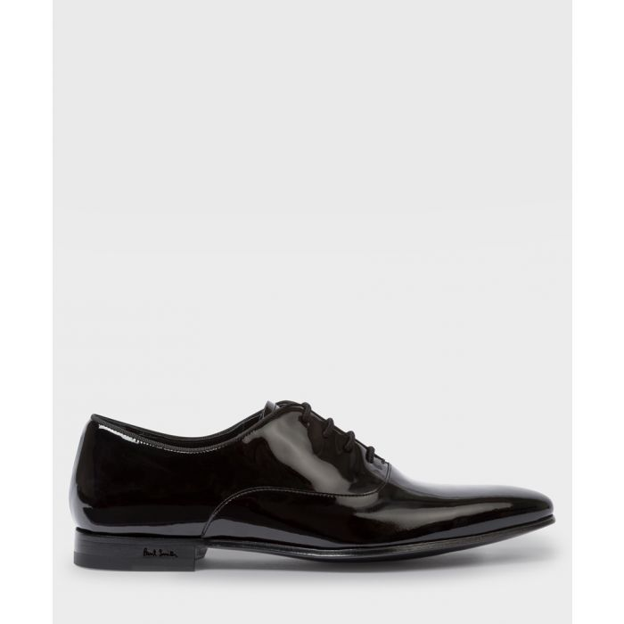 Image for Black patent leather Derby shoes