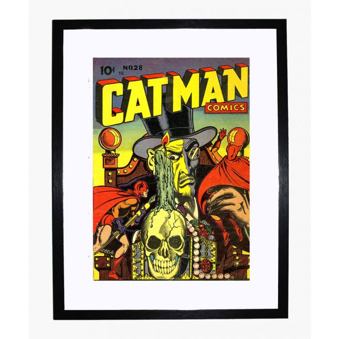 Image for Catman Comics 28 framed print