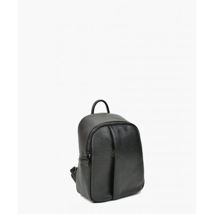 Image for Black leather bag