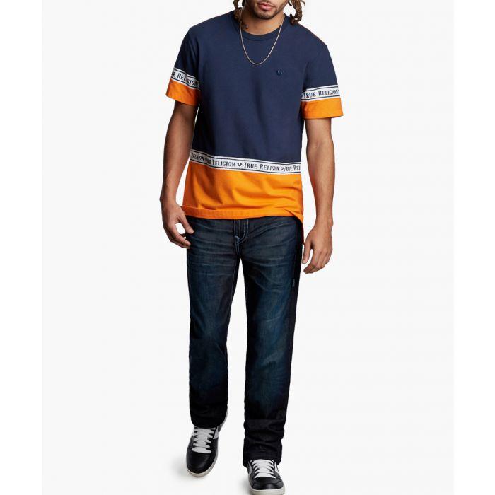 Image for ricky flap super t dark blue jeans