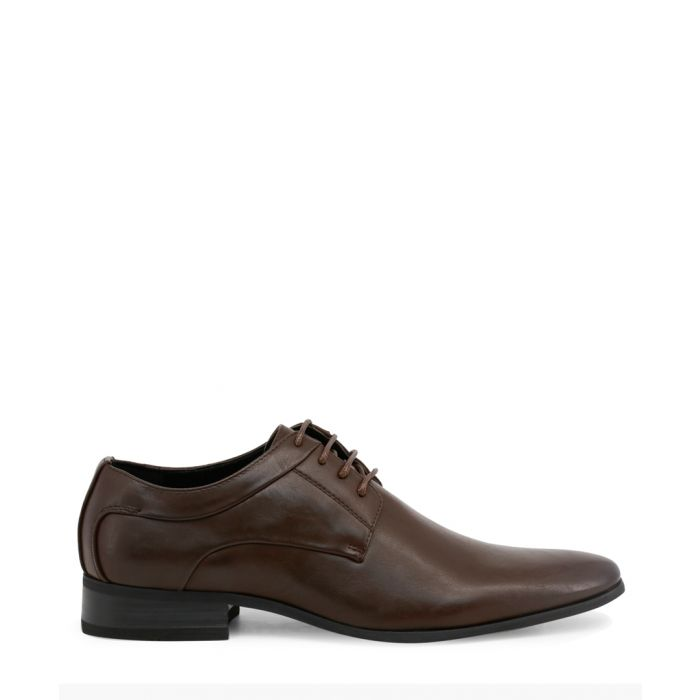 Image for Brown formal derby shoes