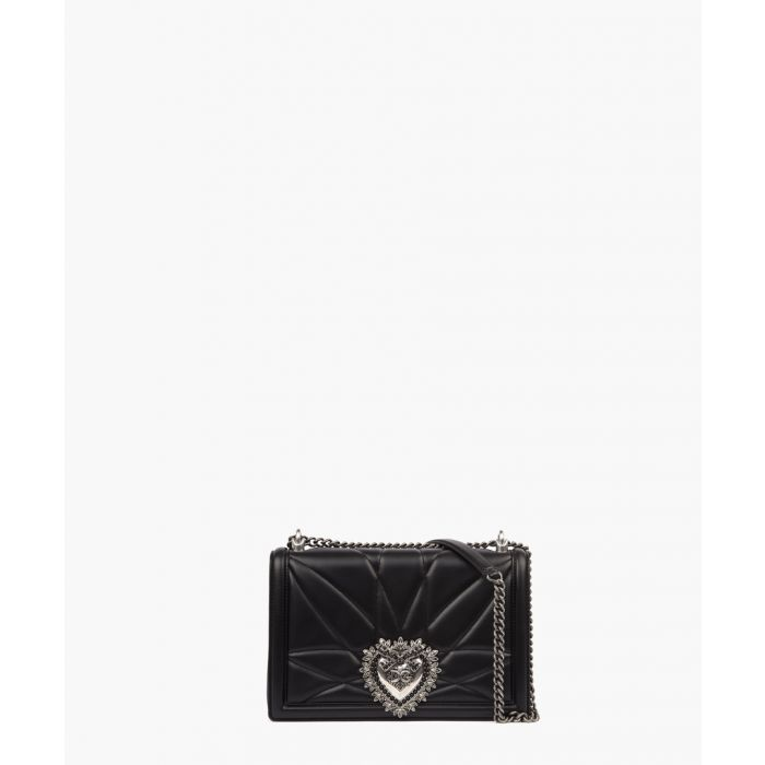 Image for Devotion black quilted nappa leather medium crossbody