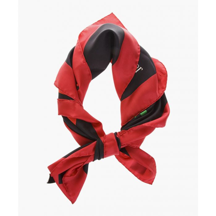 Image for Cities print silk scarf