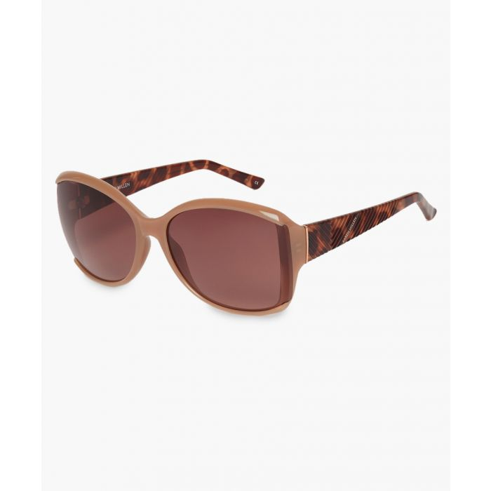 Image for Karen Millen brown sunglasses