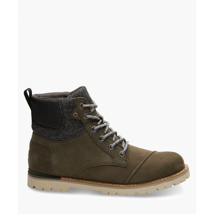 Image for Ashland olive suede shoes