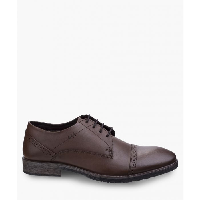 Image for Mens brown derby shoes