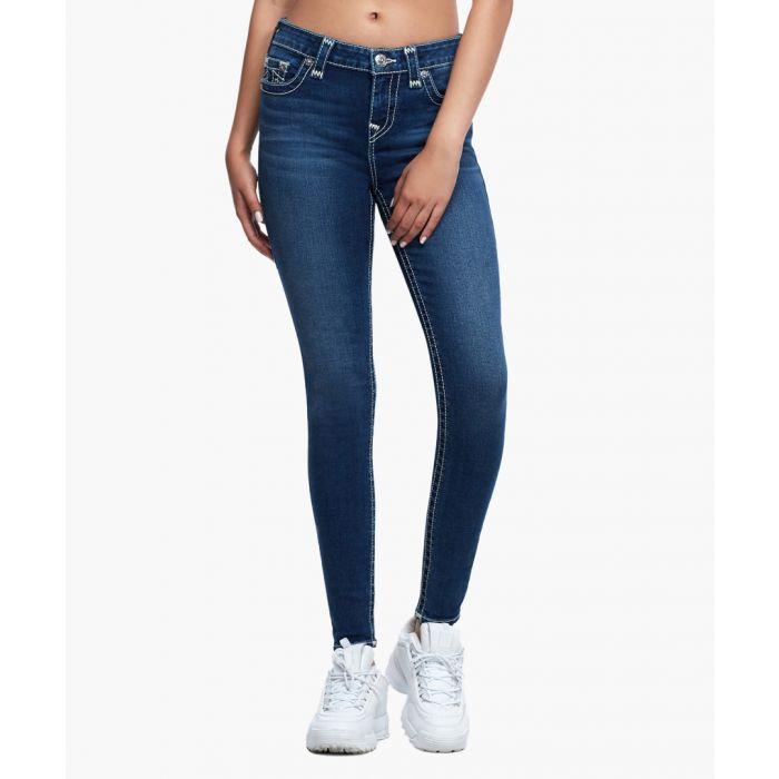 Image for Indigo skinny fit jeans