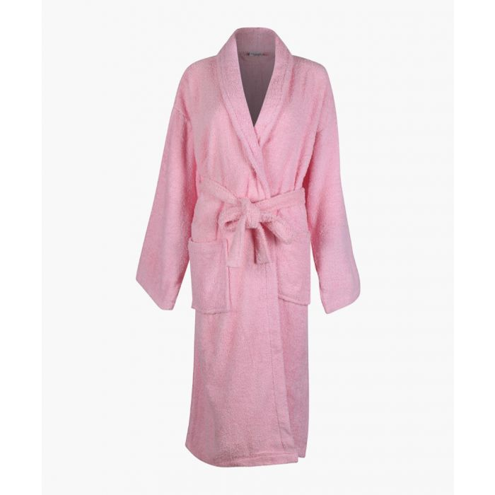Image for Pink Egyptian cotton bath robe