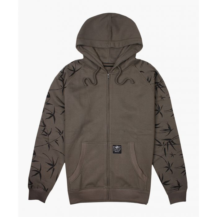 Image for Olive zip-up hoodie