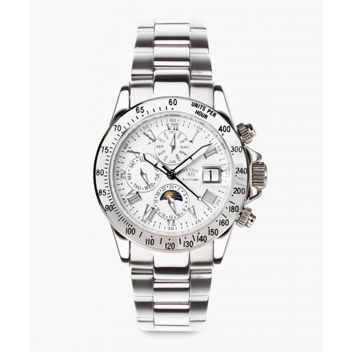 Image for Le Capitaine silver-tone watch