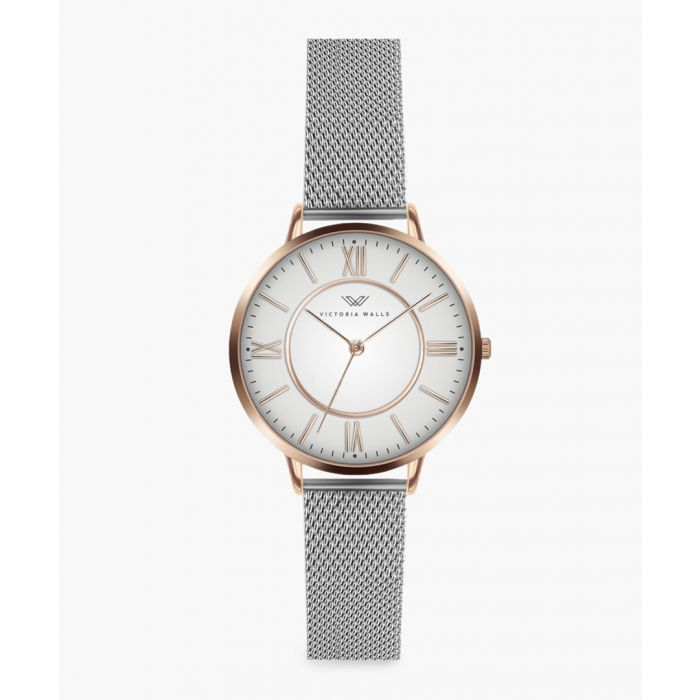 Image for Jane stainless steel analogue watch