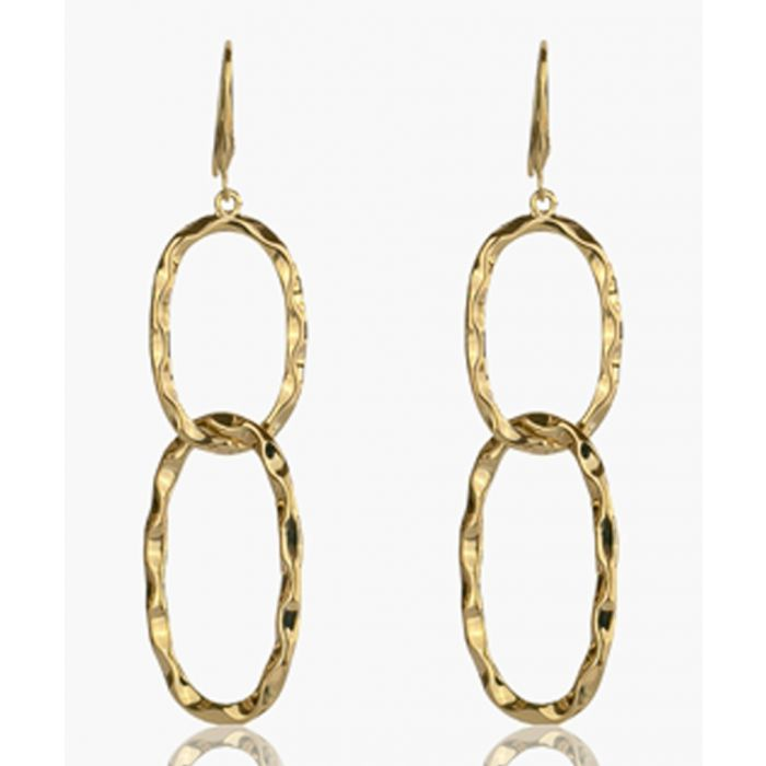 Image for Gold-plated earrings
