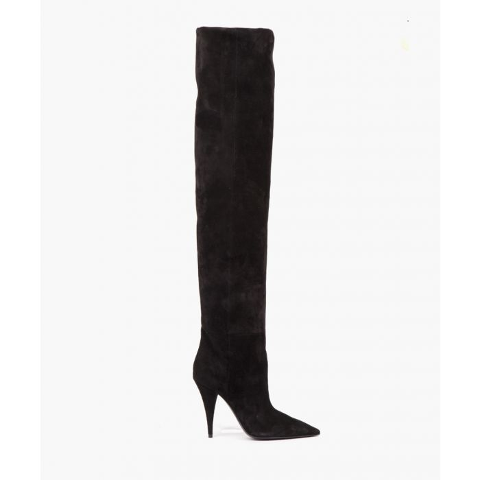 Image for Kiki black suede boots