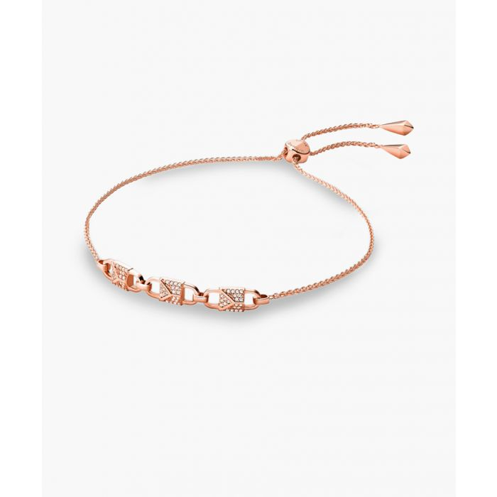 Image for Rose gold-plated stainless steel bracelet