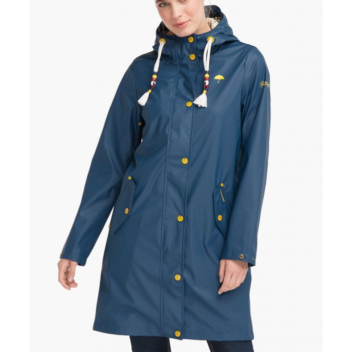 Image for Dark blue raincoat