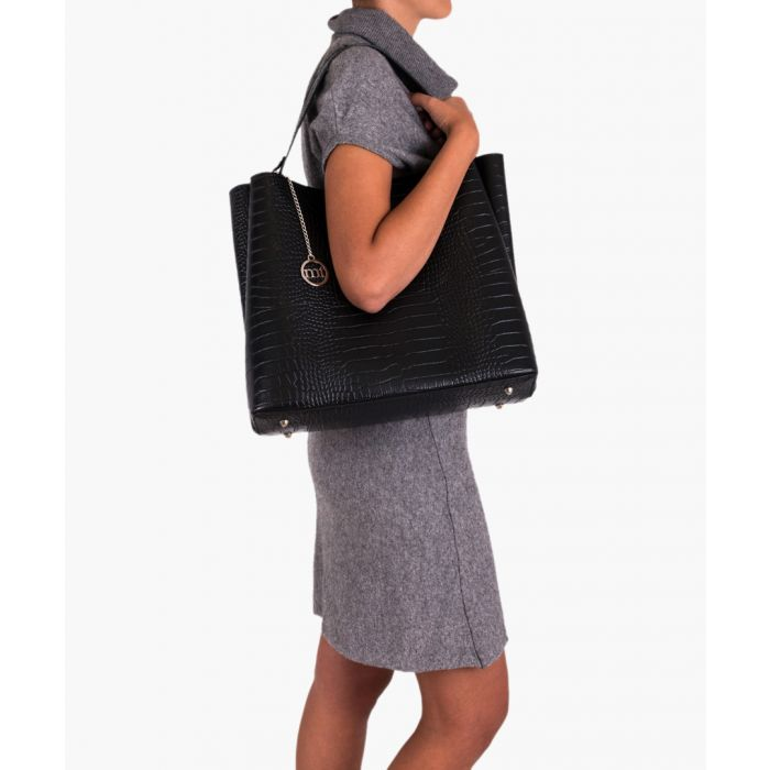 Image for Valbrona black shoulder bag