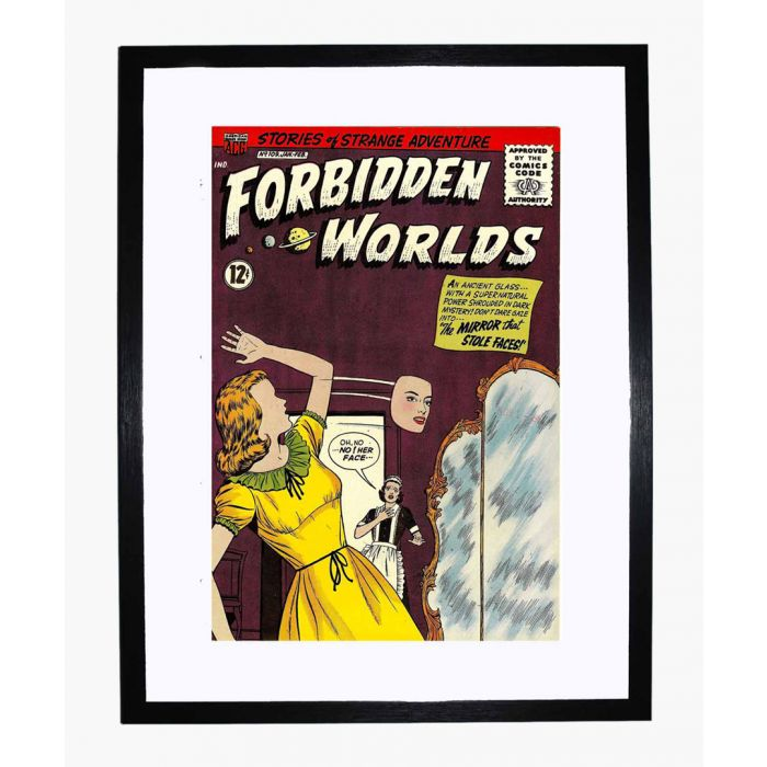 Image for Forbidden Worlds 109 framed print