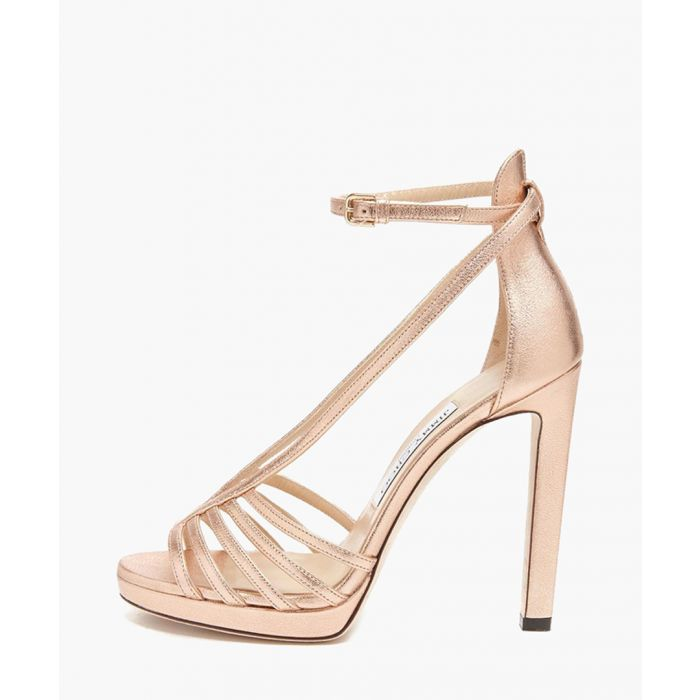 Image for Federica pink leather sandals