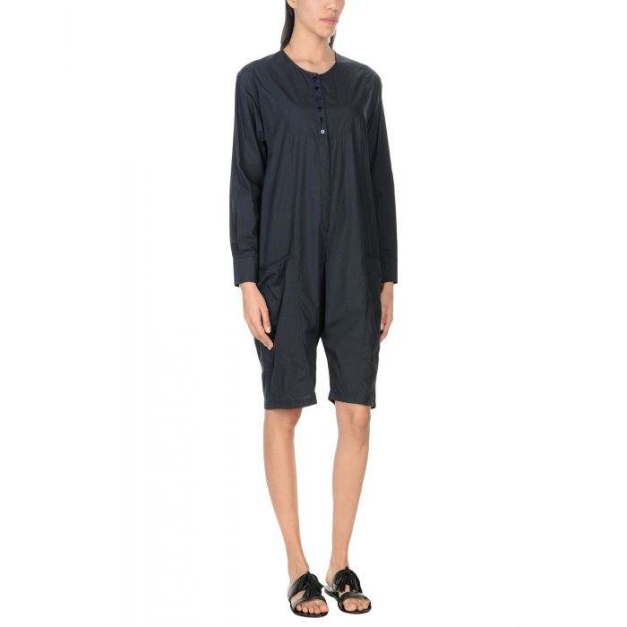 Image for Dark blue cotton jumpsuit
