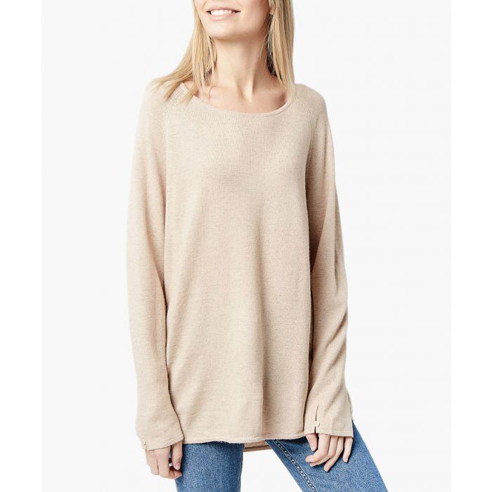 Image for Beige cashmere blend pullover