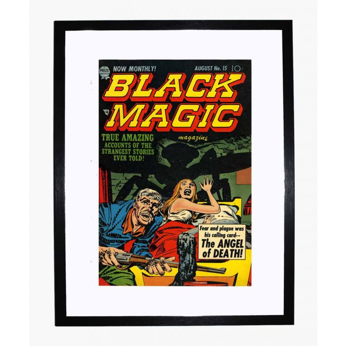 Image for Black Magic v2 09 framed print